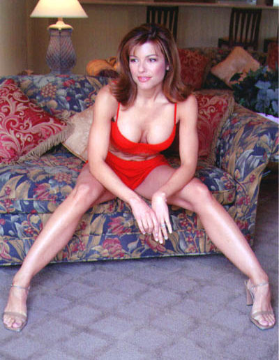 Gina Red Bikini